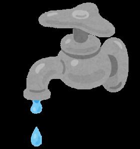 水道の蛇口が水漏れする場合の対処方法