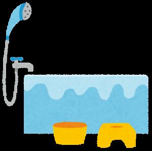 お風呂の排水溝から水が溢れる原因とは?