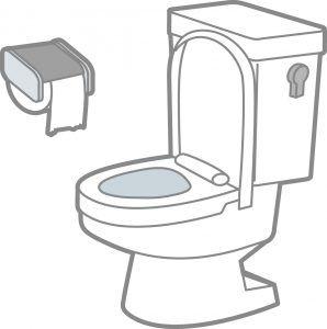 トイレタンクから水が流れる音がする原因と対処方法