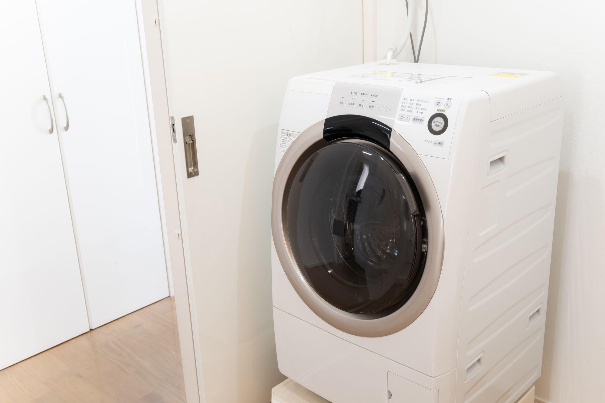 洗濯機のホースを交換するときの注意点